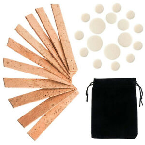 27pcs Neck Joint Cork Replacement Parts Home BB Clarinet Pad Set Repair With Bag