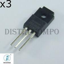 2SD1406 Transistor NPN 60V 3A TO-220ISO Inchange (Lot de 3)