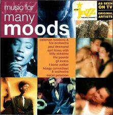 Jazz Music For Many Moods On Audio CD Album Brand New