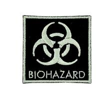 Patch ecusson brodé drapeau backpack Biohazard zombie danger nucleaire thermocol