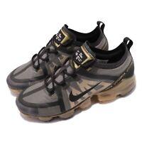 Nike Air Vapormax 2019 Black Gold Max Men Running Shoes Sneakers AR6631-002