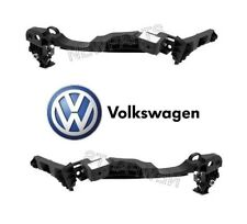 VW Golf GTI 2012-14 Pair Set of Left & Right Headlight Support Brackets Genuine