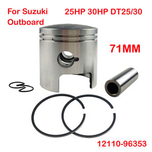 Piston and Piston Std kit For Suzuki Outboard 25HP 30HP DT25/30 71MM 12110-96353