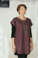 PATTERN - Easy Top & Tunic - women's sewing PATTERN - Indygo Junction