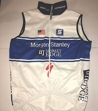 Morgan Stanley Specialized Mens Road Cycling Vest Isowind Squadra MED (thermal)
