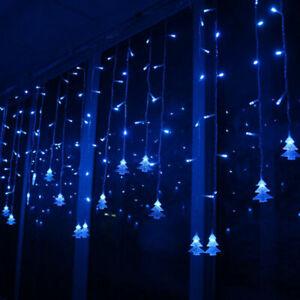 Christmas String lights LED 3.5m Curtain light garland Xmas Tree decor 220V/110V