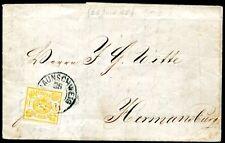 BRAUNSCHWEIG 1864 14A auf SCHÖNEM BRIEF 400€+(S7685