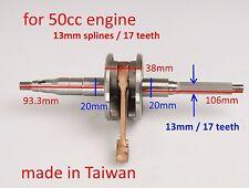 standard crankshaft for Yamaha JOG 50cc 3KJ 50cc 2T scooter engine