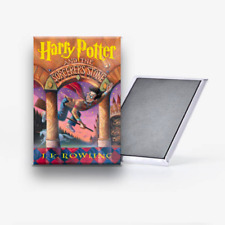 Harry Potter Series All 7 Book Covers Refrigerator Magnet Set 2x3 J.K. Rowling