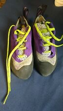 New Women's Evolv Nikita Trax Rock Climbing Shoes Size Sz 6.5