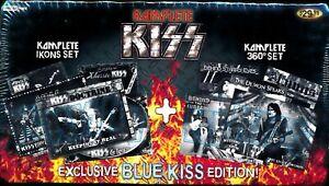 KOMPLETE KISS SET IKONS & 360 SETS BLUE KISS EDITION 2009 NEW SEALED RARE!!!