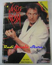 spartito VASCO ROSSI Completo 1988 RICORDI  NO cd lp mc dvd vhs