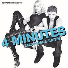 New: Madonna: 4 Minutes Single Audio CD