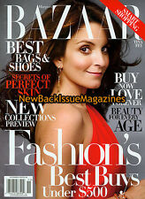 Bazaar 11/09,Tina Fey,November 2009,NEW