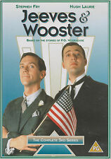 JEEVES & WOOSTER - Complete 3rd Series. Hugh Laurie, Stephen Fry (2xDVD SET '02)
