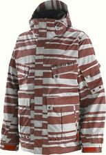 SPECIAL BLEND MEN'S P2 UTILITY JACKET - RED/GREY - MEDIUM - NWT