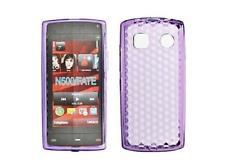 Housse Etui Coque Silicone Gel Violet Diamand ~ Nokia 500