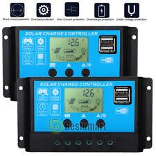 2x Mppt Solar Panel Regulator Charge Controller Auto Focus Track 12v 24v 60 100a