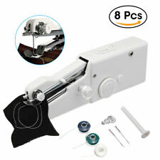 8 IN 1 Portable Mini Smart Electric Tailor Stitch Hand-held Sewing Machine Home
