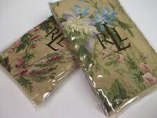 New Ralph Lauren ADRIANA Floral 2 Euro Shams - Pair