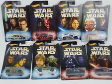 Hot Wheels Star Wars Episode 7 Basic Cars SET OF ALL 8 DWD85 Brand New
