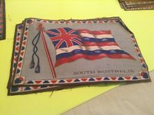 "South Australia 1910 Era Felt Flag From cigar Box (8""x11"")"