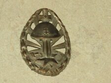SLOVAKIA WW2 EASTERN FRONT SERVICE BADGE OF HONOUR SILVER GRADE