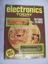 Electronics Today International magazine issue March 1976