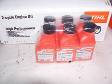 Stihl 6 Pack High Performance Oil 50:1 2-Cycle 2.6 oz Bottle Per 1 Gallon Mix #L