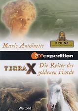 TERRA X - DVD - 2 FOLGEN:Marie Antoinette / Die Reiter der goldenen Horde (NEU)