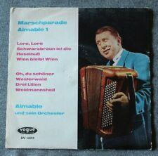 Aimable et son accordeon, Marschparade , SP - 45 tours import