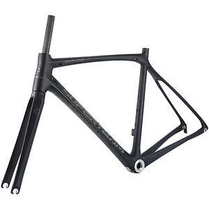 SUPERTEAM Carbon Bike Frame BSA Size 44cm To 59cm Road Bicycle Frameset 700C