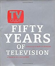 TV Guide ~ Fifty Years Of Television ~ 1st ED.~2002 ~ Hardcover Book NEW
