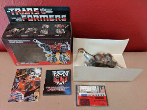 Transformers G1 (Generation One) Dinobot Sludge - Official Hasbro- Sealed Bubble