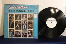 Kansas City Royals, The Crowning Episode,Denny Matthews 1980, FCLP 3119 Baseball