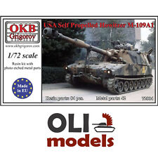 1/72 US Army Self-Propelled Howitzer M109A1 Resin & PE Kit - OKB Grigorov 72004