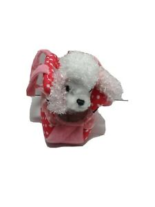 Aurora Fancy Pal Pink Precious Princess Pet Carrie Poodle Puppy plush