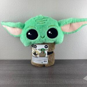 Star Wars Baby Yoda Hooded Blanket
