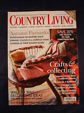 Country Living Magazine - November 2004 - Crafts and collecting