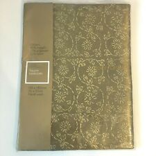 Square Table Cloth by John Lewis in Glitters Gold,140 x 140cm, (NEW)