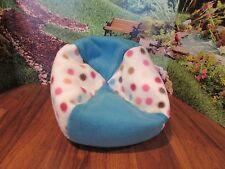 "New listing handmade polka dot fleec beanbag chair for 18"" American Girl/ 18"" doll / babydol"