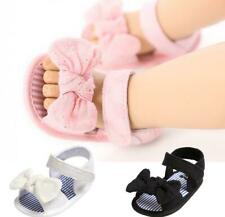 Pink White Black Infant Kid Inhouse Crawling Summer Sandals Baby Girl Crib Shoes