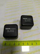 Rechargeable Battery   4.8 Volts  100 mA         Lot 2 Pcs             (DepE4H2)