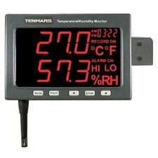 temperature humidity data logger with Wall-Mounted LED type, easy reading