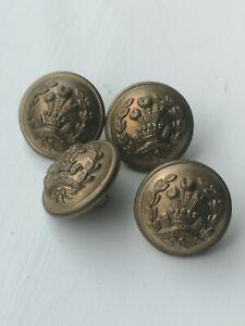 British Army Uniform Buttons - Vintage - Middlesex Regiment #3