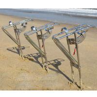 automatische Angelrute Halter verbesserte Doppelfeder verdickte Angelrute w*e