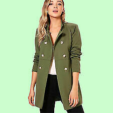 Women's Military Style Coats