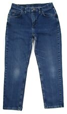 Riders Relaxed Tapered Mom Jeans Petite Womens Size 10P 30x28 Dark Stretch Denim