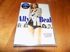 ALLY McBEAL THE COMPLETE FIFTH SEASON 6 DISC CALISTA FLOCKHART TV DVD SET NEW