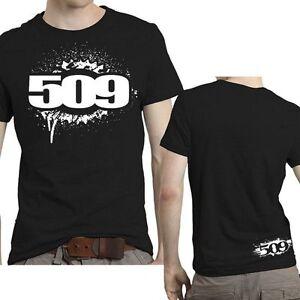 509 CLOTHING APPAREL - 509-  509 GEAR T SHIRT Black –  2XL -  509-CLO-GEAT-2X